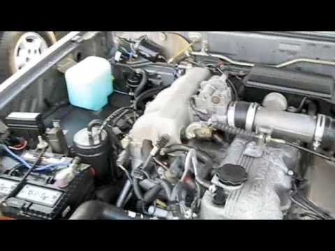 1990 engine diagram 1993 mazda b2600 pickup start up exhaust and tour youtube 1990 240sx engine diagram
