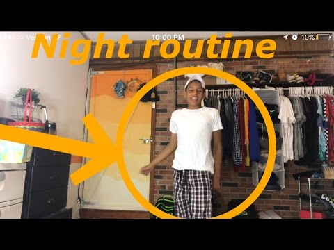 NIGHT ROUTINE (HIGHLY REQUESTED) - YouTube