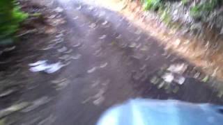 Evolution MR 2006 off road trip through Adjuntas Puerto Rico