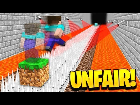 WORLDS MOST UNFAIR MINECRAFT MAP...