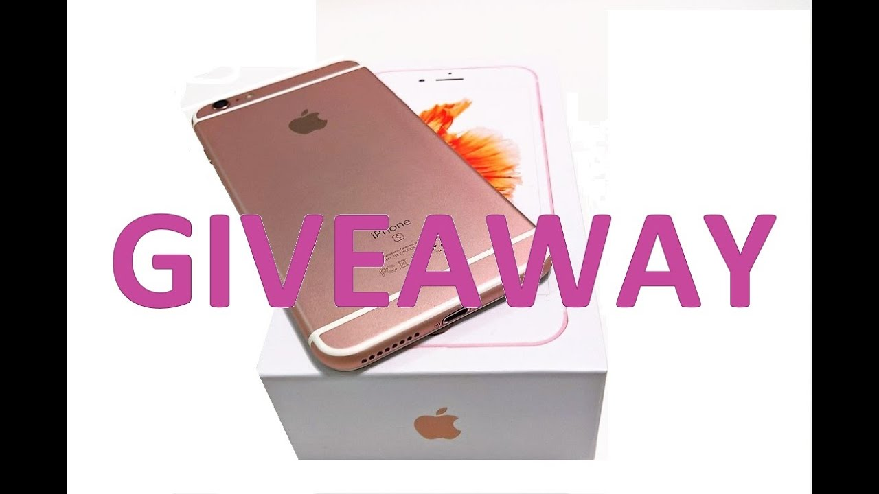 Giveaway iphone 6 plus for sale