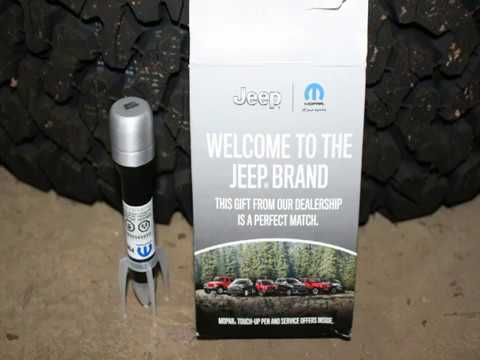 FREE Mopar Jeep JL Touch Up Paint