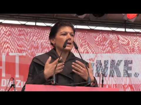 Sahra  Wagenknecht am 12.09.2017 in Stuttgart