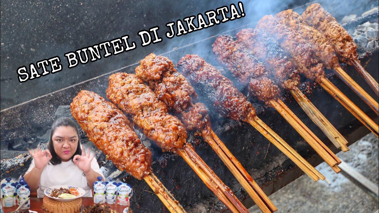 BUSET GEDE BANGET! ADA SATE BUNTEL ASLI SOLO DI JAKARTA! PORSINYA BESAR!