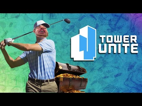 The Rematch of RAGE + Another Wildcat Mental Breakdown - TOWER UNITE MINI GOLF FUNNY MOMENTS