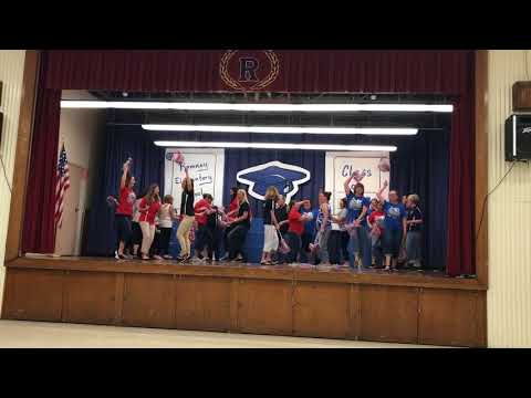 Romney Elementary School end of the year dance 2018