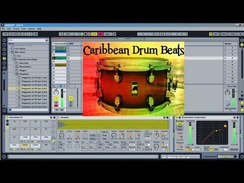 Caribbean and Reggae Drum MIDI Library - Subaqueous Music