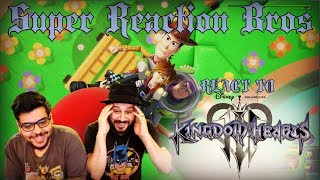 SRB Reacts to Kingdom Hearts III - D23 Expo Japan 2018 Trailer