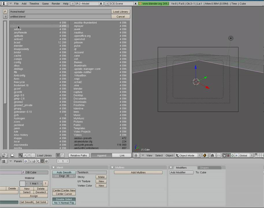 Blender 3D - Importing Models