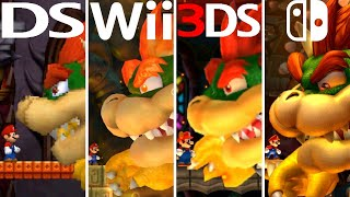 Evolution of Bowser Coming Back to Life (2006-2021)