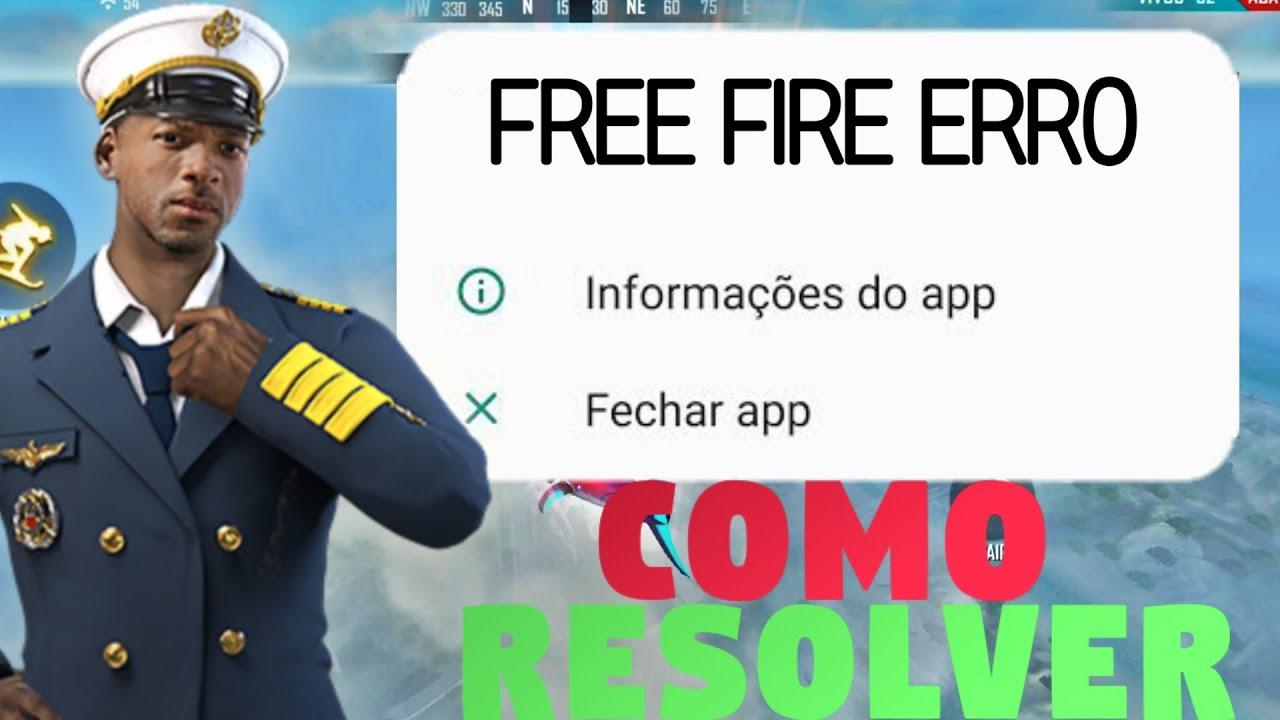 COMO RESOLVER O PROBLEMA DO JOGO FICAR FECHANDO SOZINHO | FREE FIRE