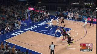 NBA 2K18 Knicks v Hawks #5