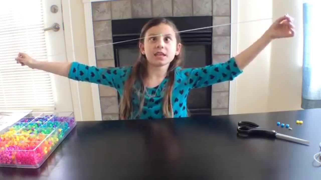 Pony Bead Lizard Tutorial Youtube
