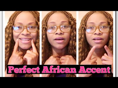 How To Speak Perfect African Accent || Learn African Accent Fast || Summer Aku
