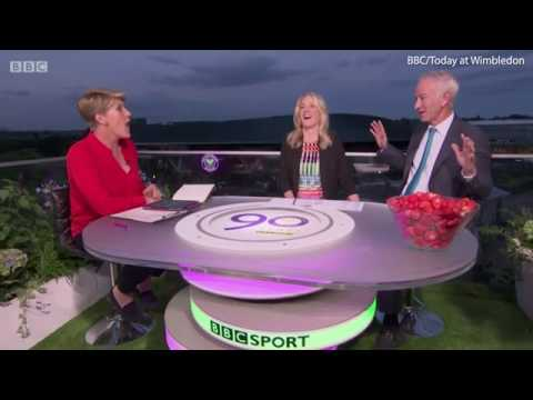 Clare Balding jibes at John McEnroe after Serena Williams comment   Daily Mail Online