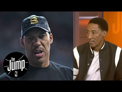 Scottie Pippen says LaVar Ball isn't letting his sons LiAngelo and LaMelo develop | The Jump | ESPN