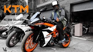 2017 KTM RC 390 | DELIVERY | FRIEND'S NEW BIKE!
