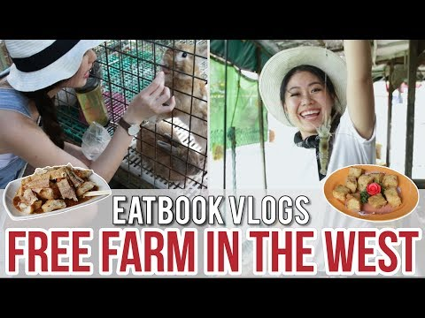 FREE-ENTRY FARM IN THE WEST - FARMART CENTRE l Eatbook Vlogs l EP 32