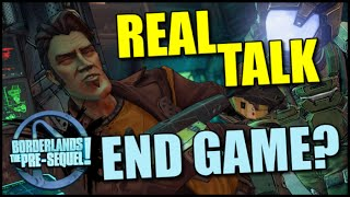 Real Talk: Borderlands The Pre-Sequel and the State of End Game. Is There Longevity? DLC a Savior?
