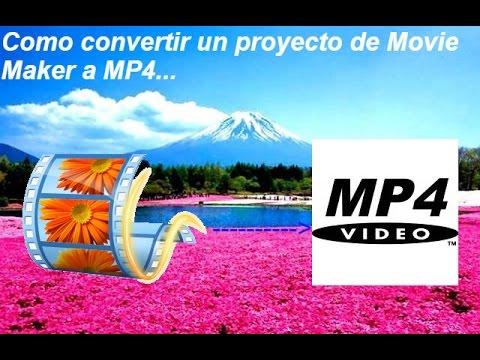 Conversor de videos para movie maker online
