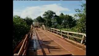 PONTE SOBRE O RIO SÃO MIGUEL URUANA DE MINAS - MG