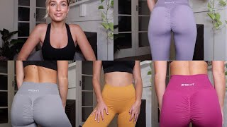 ACTIVEWEAR try on haul WITH squat test - ECHT apparel