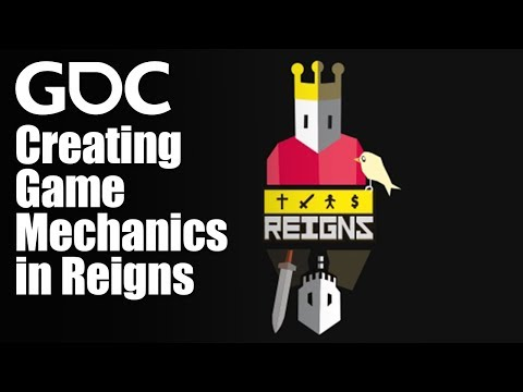 The Casual (but Regal) Swipe: Creating Game Mechanics in Reigns