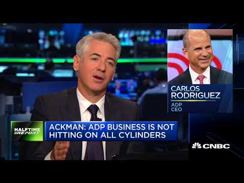 Bill Ackman on CNBC with Scott Wapner September 20, 2017 (Part 1)