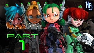 Assault Android Cactus Walkthrough Part 1 No Commentary