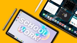 iPad Pro vs Galaxy Tab S6 | ULTIMATE School Comparison!