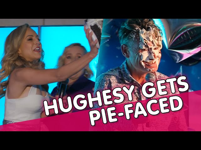 Hughesy gets PIE-FACED | Carrie & Tommy