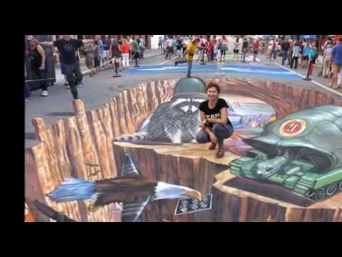 Sper Amazing 3D Street Art Illusion