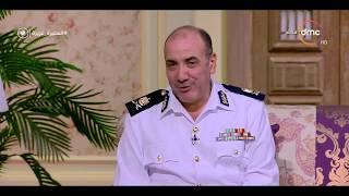 السفيرة عزيزة - اللواء/محمود عبد الرازق : تبني الدولة لمشروعات بنية تحتية له أثر على منظومة المرور