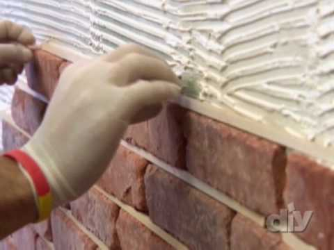 DIY Brick Wall - DIY Network
