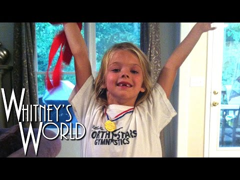 7 Year Old Gymnast Inspired by 2012 Olympic Games | Whitney Bjerken