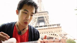 La Vie En Rose w/ Ukulele in Paris - new! Jimmy Wong