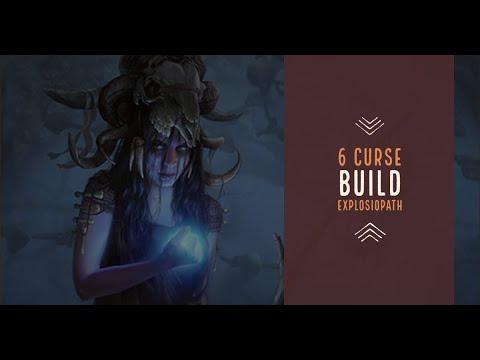 Path Of Exile 3.10 unique strong starter build - 6 curse explosiopath ? HC / SSF viable (2020)
