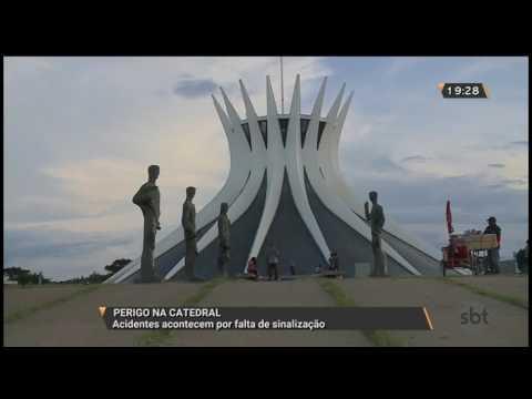 Perigo na Catedral: Acidentes acontecem por falta de sinalização