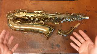 Repairman's Overview: 1950 Conn 28M CONNstellation Alto Saxophone
