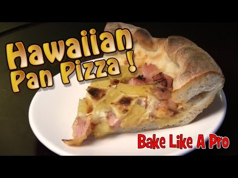 Ham And Pineapple Pan Pizza Recipe