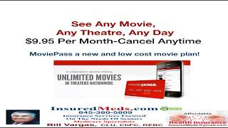MoviePass Enjoy Theater Movies- Only $9.95 A Month