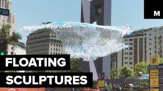 Floating sculptures