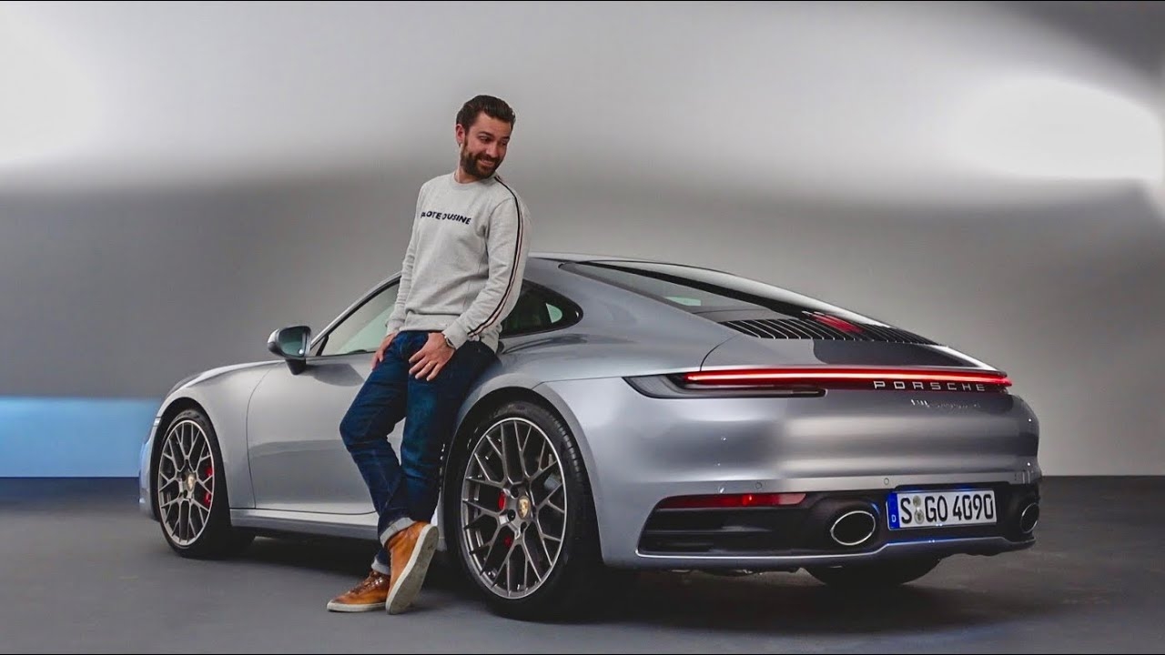 here 39 s the new 2019 porsche 911 carrera 992 first look youtube. Black Bedroom Furniture Sets. Home Design Ideas