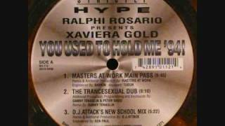 Ralphi Rosario - You Used To Hold Me 94 (Dj Attacks New School) 1994 Strictly Hype Records