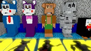 Cinco noites na Candy ' s 1, 2, 3 ALL ANIMATRONICS (ROBLOX)