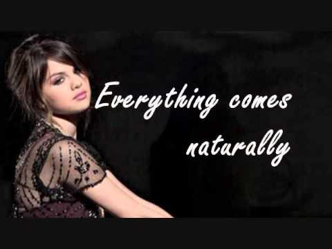 Selena Gomez- Naturally Lyrics (HQ)