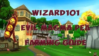 Wizard101: How To Get Evil Magma Peas Free! ( Farming ) | 60 FPS!