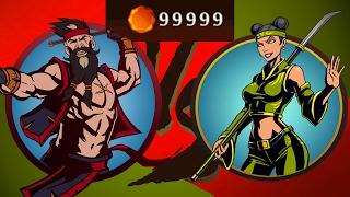 Shadow Fight 2 Бой с тенью #23 Оса Как купить кристалы? Это не взлом мод без рут прав а прохождение