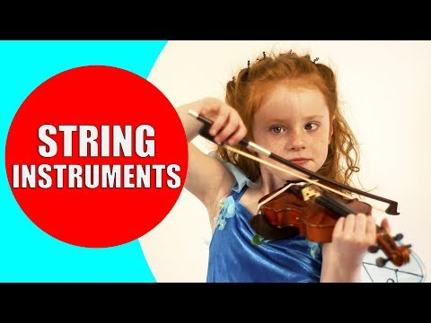 String Instruments for Kids - Examples and Sounds of Stringed Instruments for Children | Kiddopedia