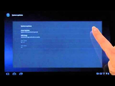 Lenovo Ideapad Tablet K1: System Update